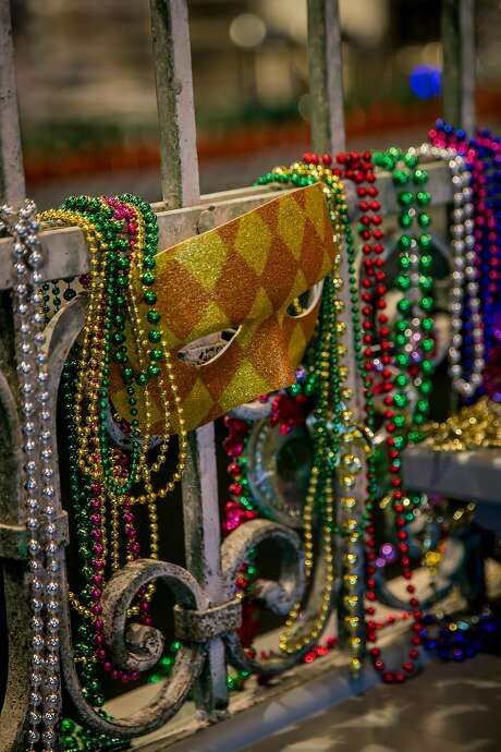 The Bywater in Los Gatos rocks a Mardi Gras vibe year-round. Photo: John Storey John Storey, Special To The Chronicle