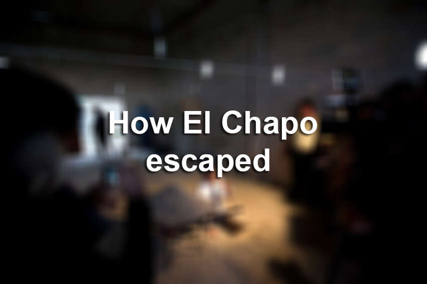 Click ahead to see El Chapo's prison cell and how he was able to escape.