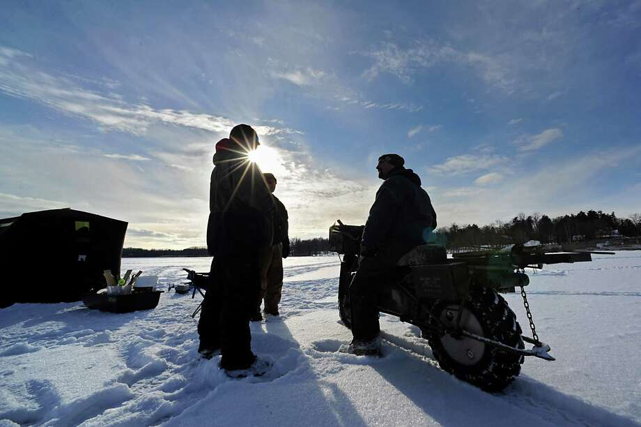 High temperatures bring warnings on brush fires ice for Ice fishing ny