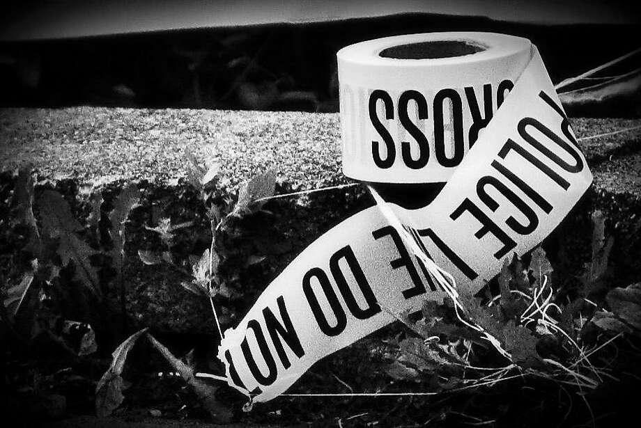 stock police crime scene crime tape Photo: Contributed Photo, ST
