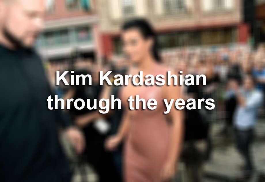 Click ahead to see Kim Kardashian's changing look through the years.