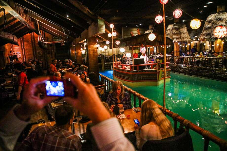 "Tonga Room950 Mason St.Dreamforce guidebook quote: ""Rather than being a place to impress your guests, it's a good informal place to get to know your fellow attendees and build relationships."" Photo: Gabrielle Lurie Gabrielle Lurie, Special To The Chronicle"