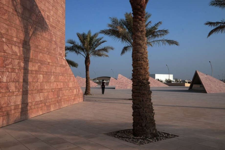 Texas A&M University operates a branch campus at Education City complex in Qatar. Washington Post photo by Bonnie Jo Mount