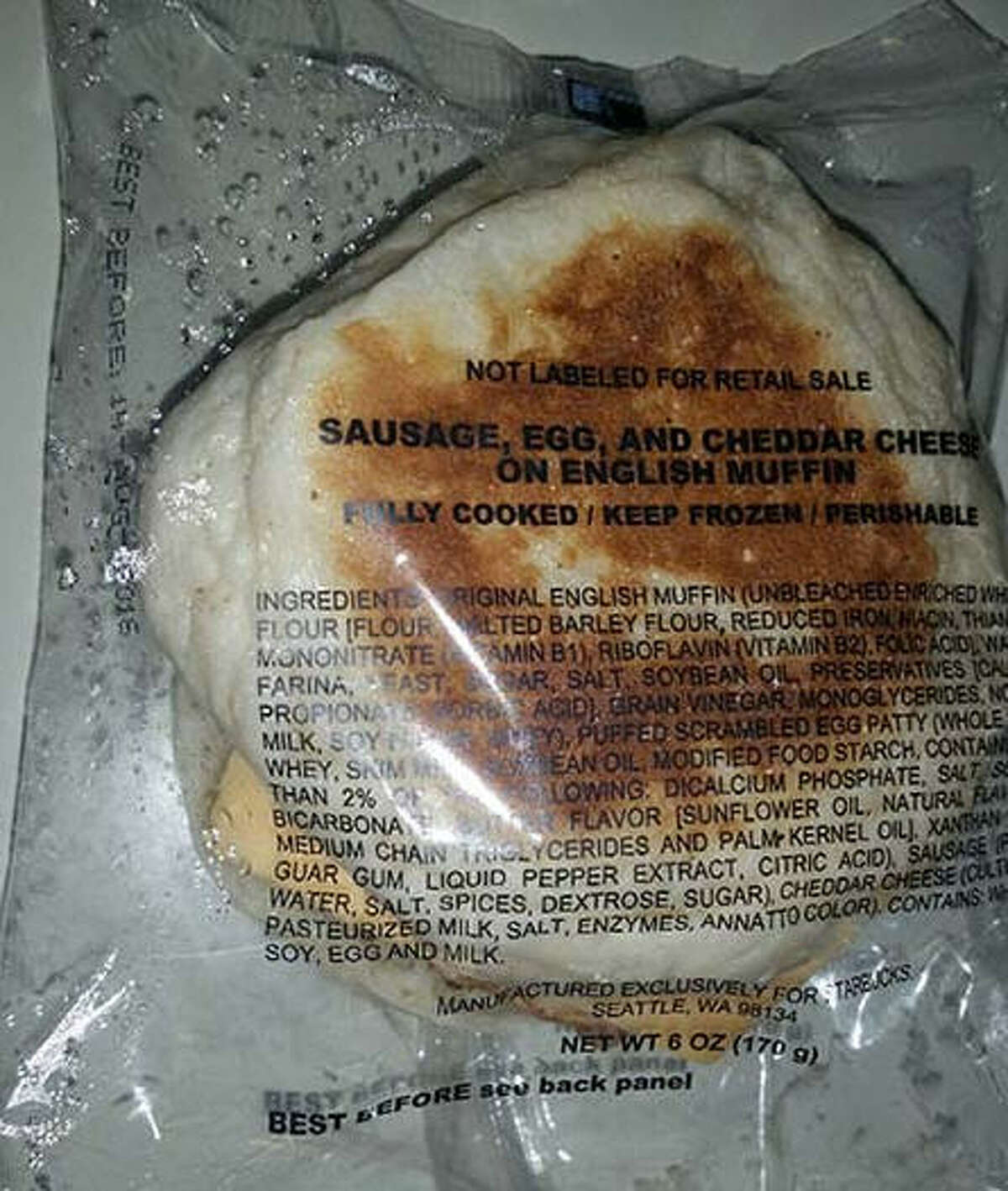 Breakfast sandwiches sold at Starbucks are being recalled. Click the gallery to see Starbucks hacks and secret menus.