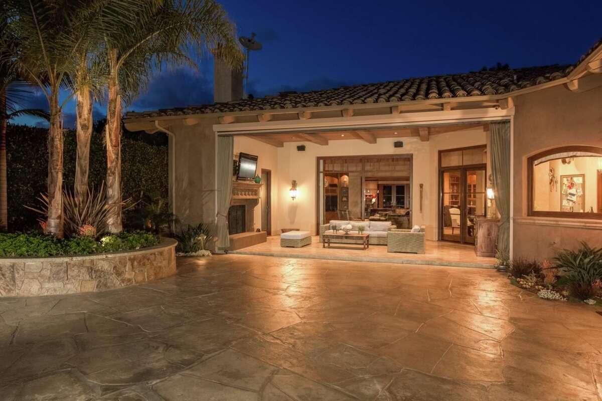 Former San Francisco Giants slugger Aubrey Huff put his San Diego home on the market for $4.094 million in Feb. 2016.