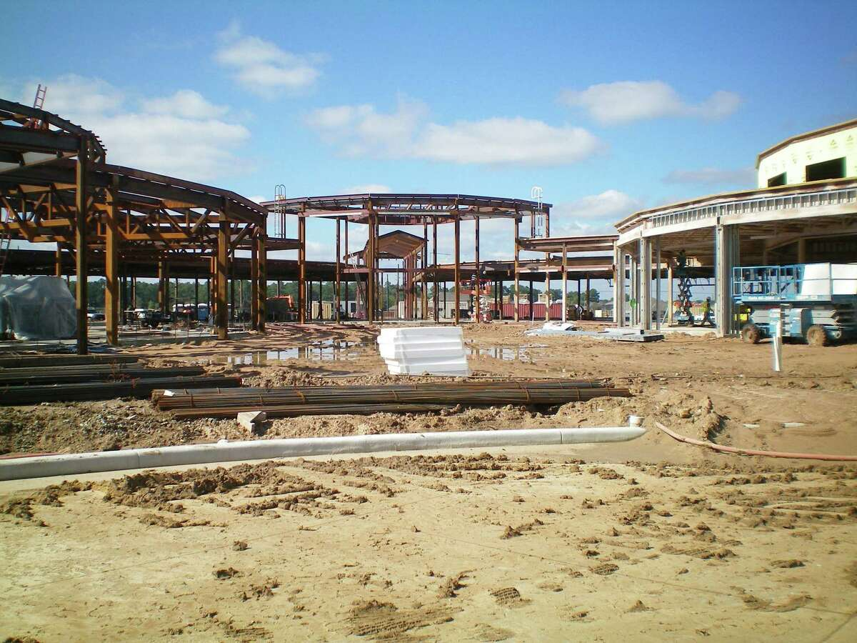 Construction is on track for Klein Independent School District's Mahaffey Elementary to open in the fall.