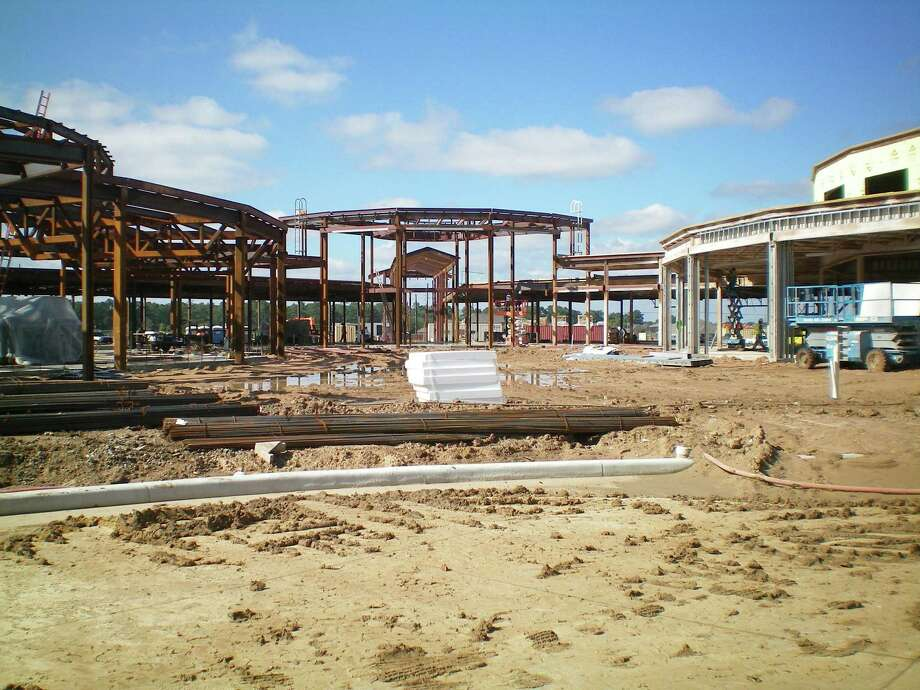 Construction is on track for Klein Independent School District's Mahaffey Elementary to open in the fall. Photo: Jerry Baker, Freelance