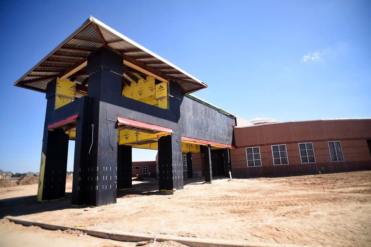 Klein ISD's Mahaffey Elem. is due to open in the Fall of 2016. (Photo by Jerry Baker/Freelance)