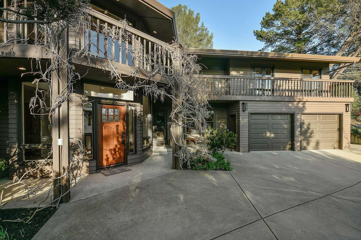 1600 Reiliez Valley Rd. in Lafayette offers a four-bedroom, three-bathroom main home and a detached studio for $2.395 million.�