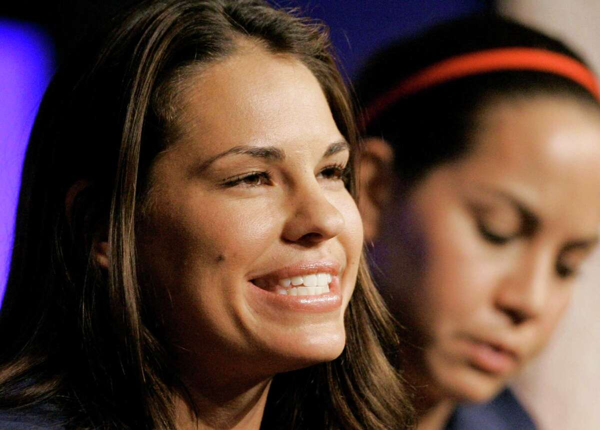 Jessica Mendoza The former Olympic softball star is the first female analyst to call a nationally televised Major League Baseball playoff game.