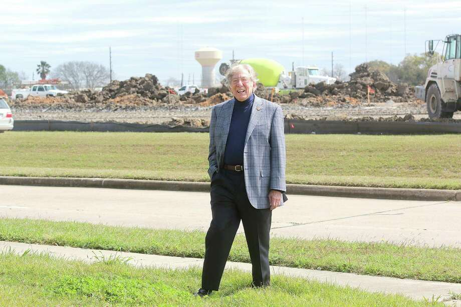 Stafford Mayor Leonard Scarcella believes a mixed-use development being built at Texas Instruments' former campus will be a major step in transforming the city into an urban center. Developer StreetLevel is planning apartment homes, retail establishments, restaurants and office space on the 192-acre tract.  Photo: Pin Lim / Copyright Forest Photography, 2015.