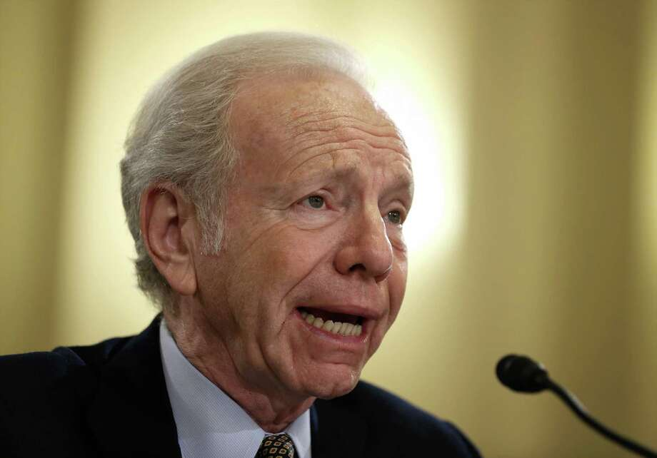 Former U.S. Sen. Joseph Lieberman is the lawyer for the Schaghticoke Tribal Nation, which is suing the state over the development rights for a third casino in Connecticut. Photo: Alex Wong /Getty Images / 2014 Getty Images Connecticut Post Contributed  Alex Wong/Getty Images