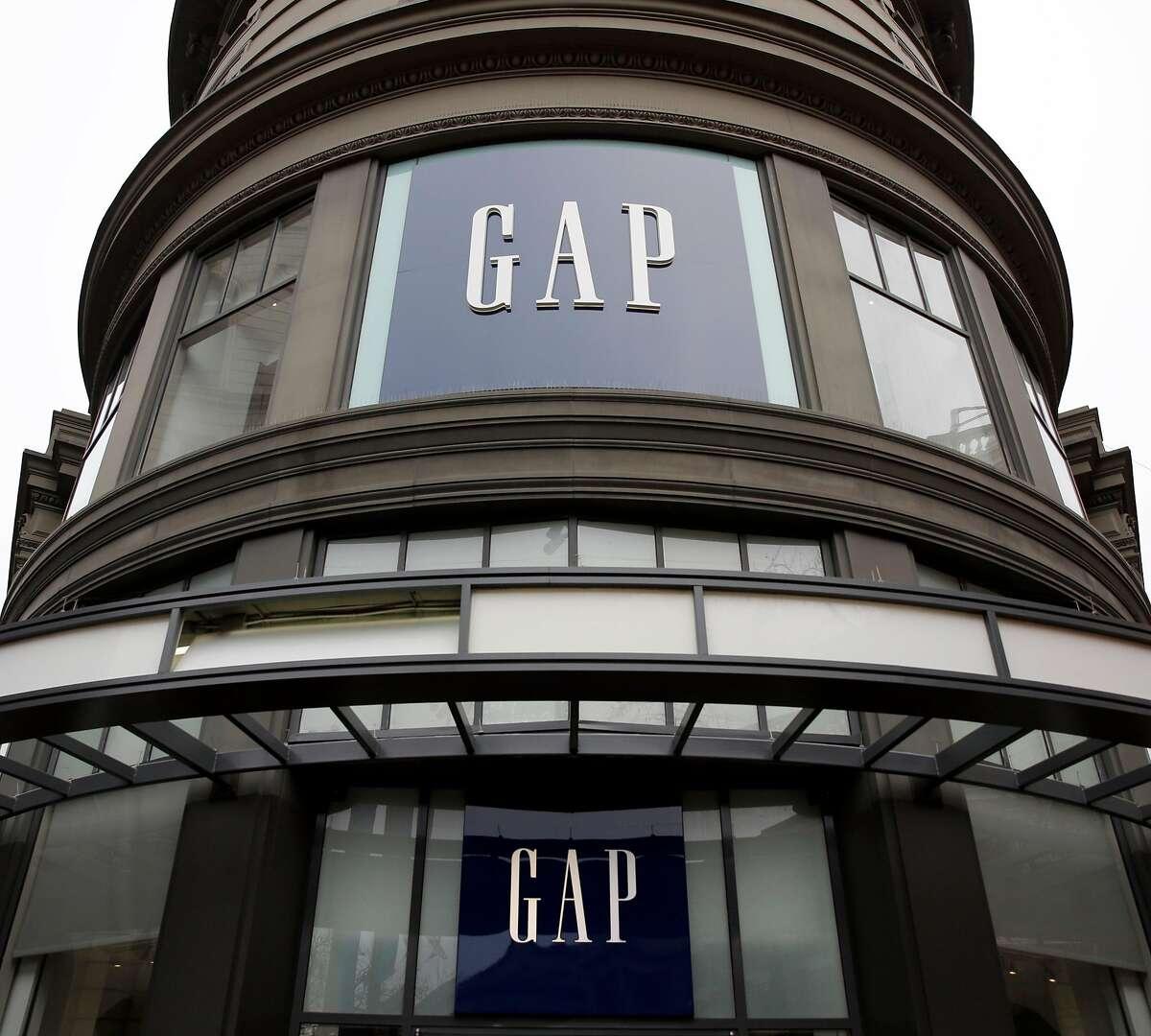 The Gap on Market Street in San Francisco, California, on Wednesday, Dec. 30, 2015.
