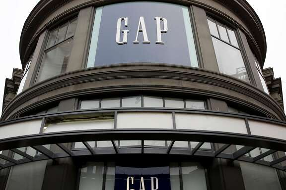 The Gap on Market Street in San Francisco, California, on Wednesday, Dec. 30, 2015.
