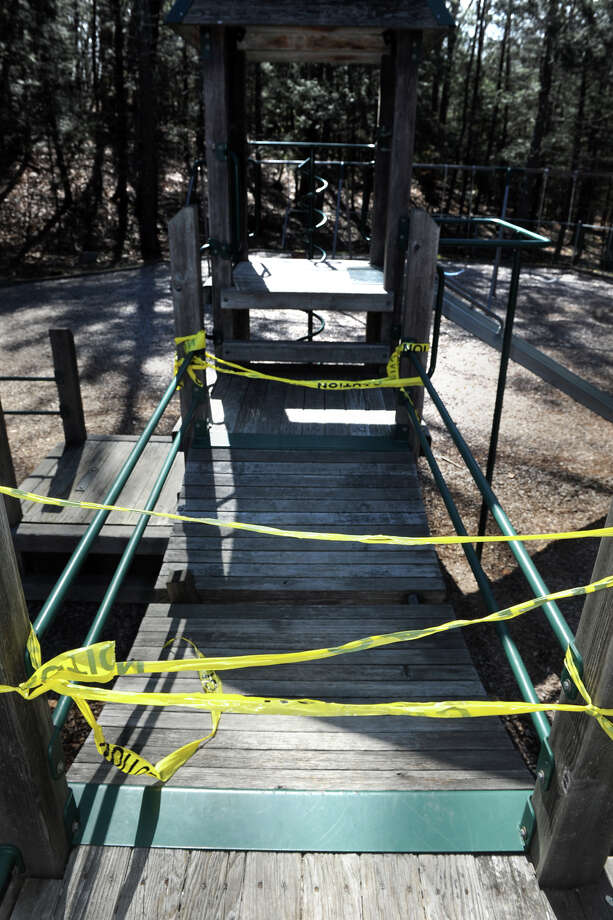 The playground in Indian Ledge Park, seen here March 3, 2016. Photo: Ned Gerard / Hearst Connecticut Media / Connecticut Post