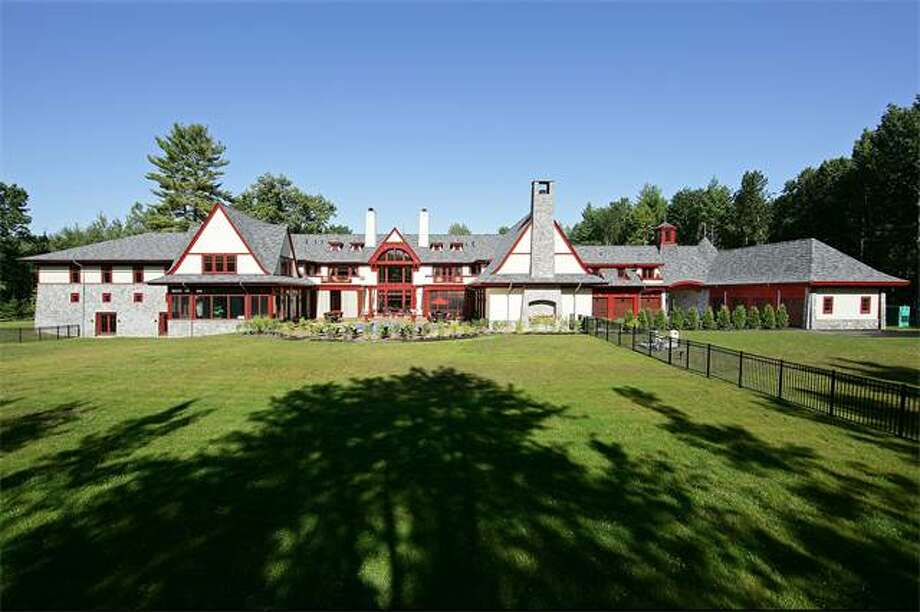 The Silipigno home at 36 Stony Brook Dr. in Saratoga Springs is being offered for $8.6 million. (Sotheby's)