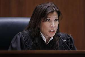 California Supreme Court Chief Justice Tani Cantil-Sakauye addresses a hearing in San Francisco, Tuesday, Jan. 10, 2012.  Republicans urged the California Supreme Court to dump newly drawn state Senate districts planned for this year's election. Voters created the California Citizens Redistricting Commission to draw the new maps and take the highly politicized process away from the state Legislature. (AP Photo/Paul Sakuma)