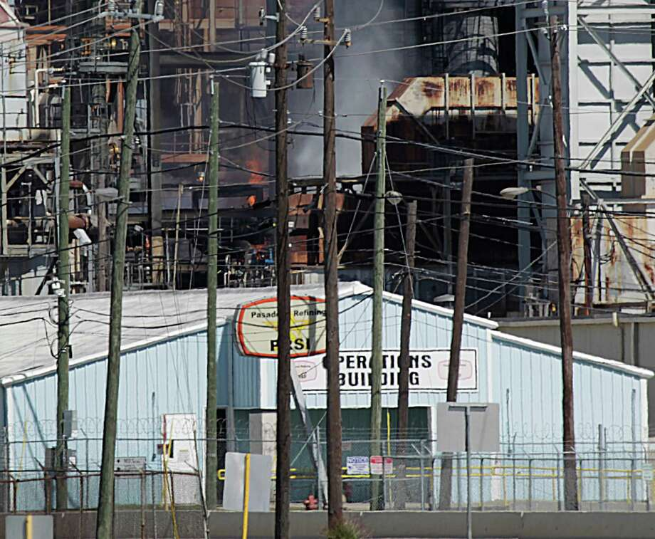 The explosion at the Pasadena Refinery System on Saturday was the latest in a run of accidents that have shaken homes and sent residents scrambling. Photo: James Nielsen James Nielsen, Staff / © 2016  Houston Chronicle