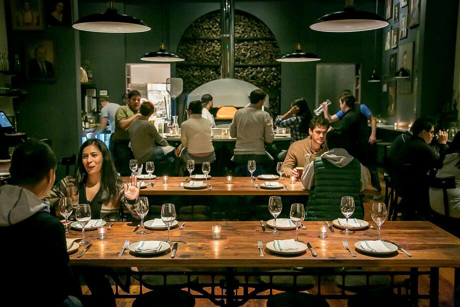 Diners at Del Popolo in S.F. Photo: John Storey John Storey, Special To The Chronicle