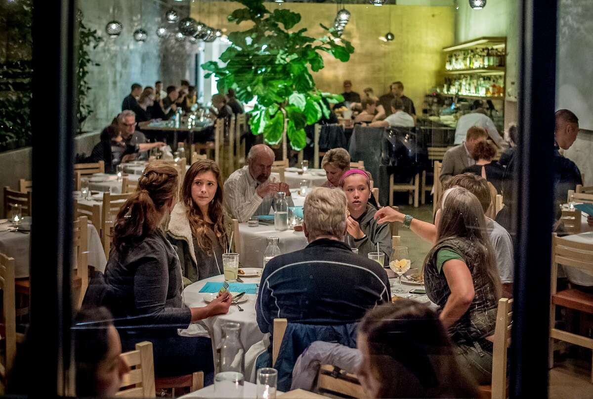 People have dinner at Cala in San Francisco, Calif. on Friday, November 20th, 2015.