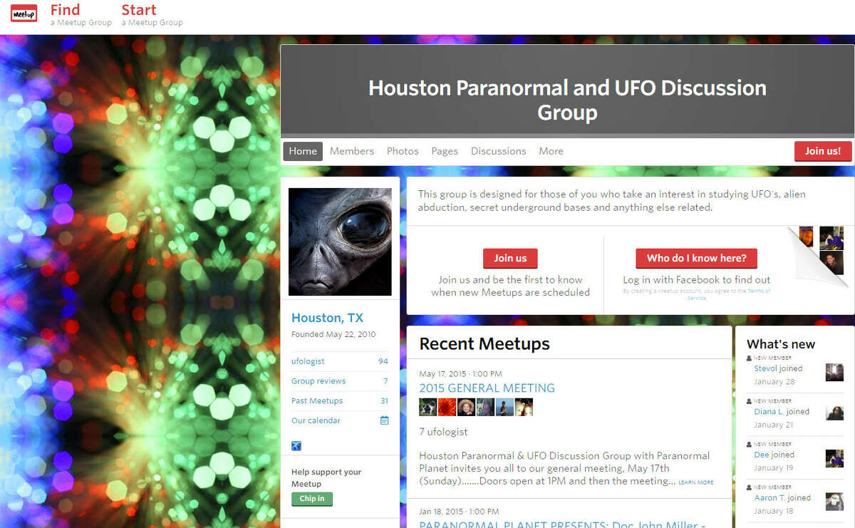 Paranormal and UFO Discussion Group