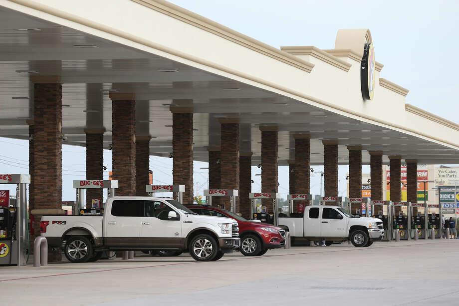 Gasoline prices are up only a few cents nationally and locally over last year. Photo: Tom Reel, Staff / San Antonio Express-News