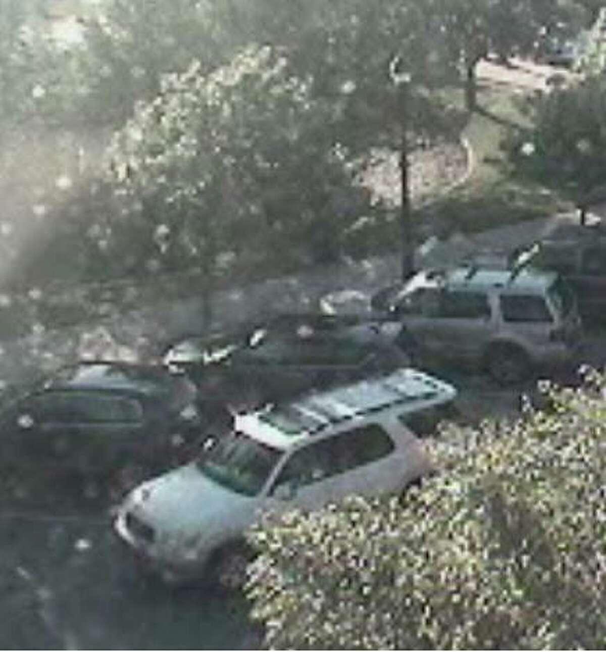 Surveillance footage provided by the Southlake Police Department shows a white SUV purportedly driven by suspects who carried out the killing of Juan Jesus Guerrero Chapa - a former lawyer for Osiel Cárdenas Guillén, leader of the Gulf Cartel and Los Zetas - in May 2013 while he and his wife were out shopping in Southlake.