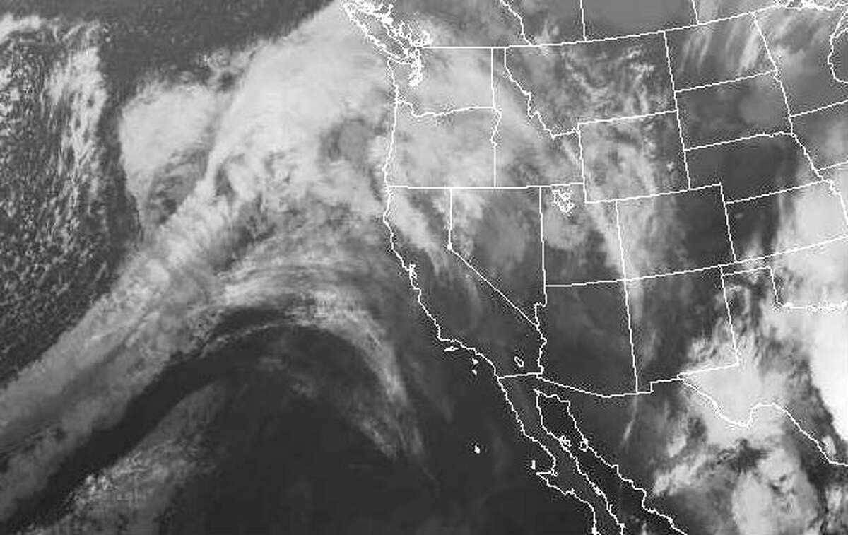 An atmospheric river over the Pacific Ocean is set to bring several storms to the Bay Area starting Thursday.