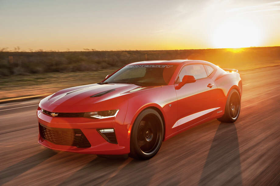 sealy based hennessey performance pushes a camaro to over 200 mph houston chronicle. Black Bedroom Furniture Sets. Home Design Ideas