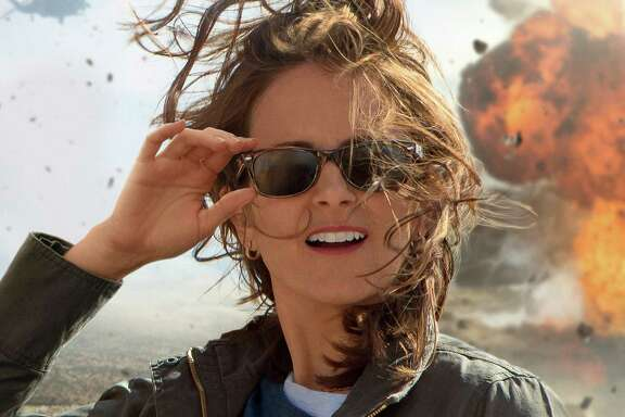 """WHAT MIGHT THAT STAND FOR? Tina Fey as a rookie war correspondent in over her head in """"Whiskey Tango Foxtrot,"""" adapted by longtime Fey cohort Robert Carlock from Kim Barker's memoir. Opens March 4.  Photo: Courtesy Paramount Pictures"""