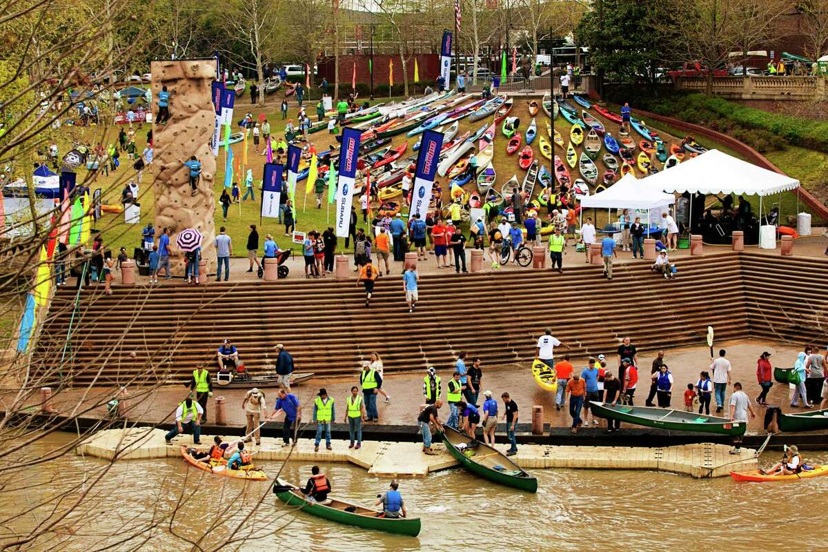 Grab a canoe or kayak and head to Buffalo Bayou on Saturday for the big race.