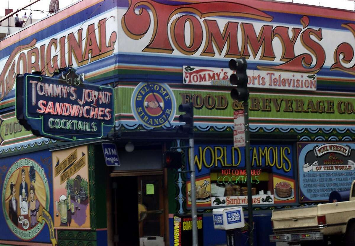 Tommy's Joynt Find them:1101 Geary Blvd. What Guy Fieri ate: oven roastedturkey