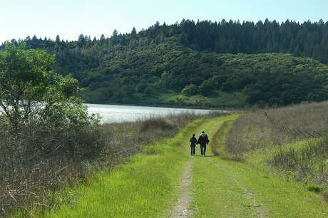 From Moore Creek Park, Napa County's newest and largest park, you get trails that run in the foothills and alongside Lake Hennessey. Photo: John Woodbury