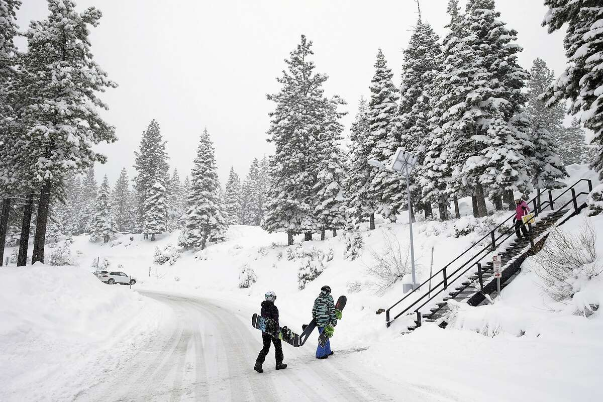 A large winter storm is forecast for the Sierra Nevada this week.