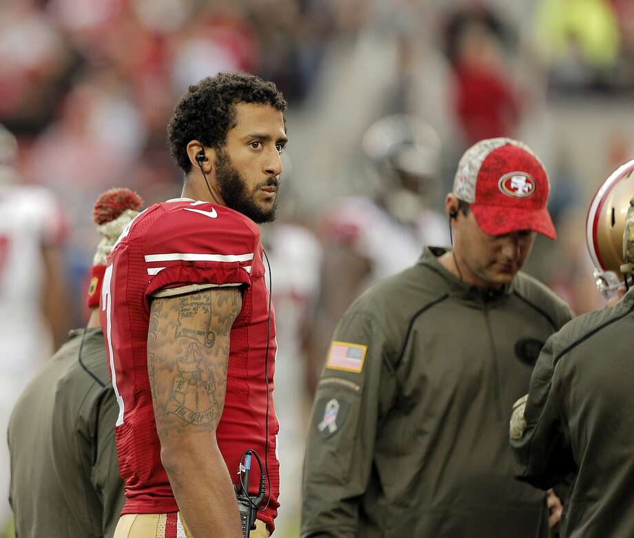 The awkward marriage of Colin Kaepernick and the 49ers continues. Photo: Carlos Avila Gonzalez, The Chronicle