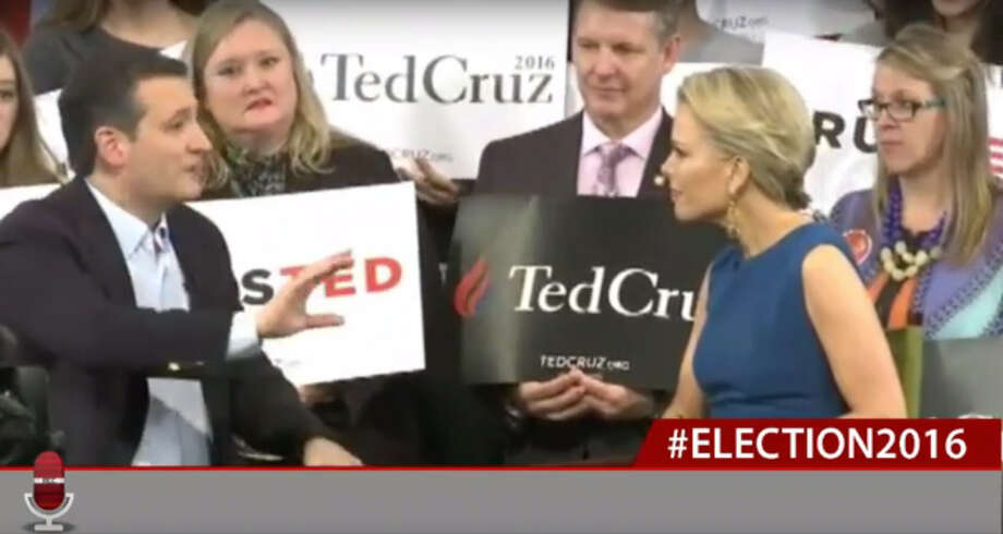 Fox News' Megyn Kelly interviewed Texas Sen. Ted Cruz at a town hall event Tuesday in Raleigh, North Carolina.