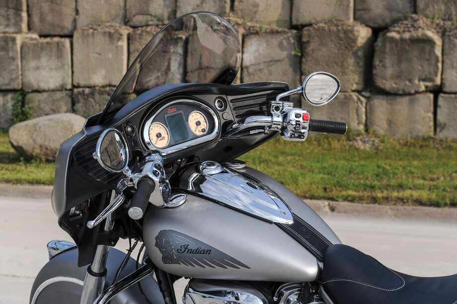 The cockpit of the 2016 Indian Chieftain. Photo: Indian Motorcycle