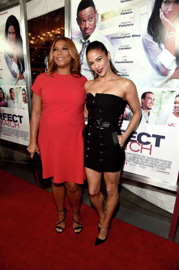 Queen Latifah and Paula Patton say audiences should keep an open mind about Saldana. Photo: Alberto E. Rodriguez, Staff / 2016 Getty Images