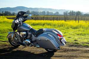 Riding the 2016 Indian Chieftain - Photo