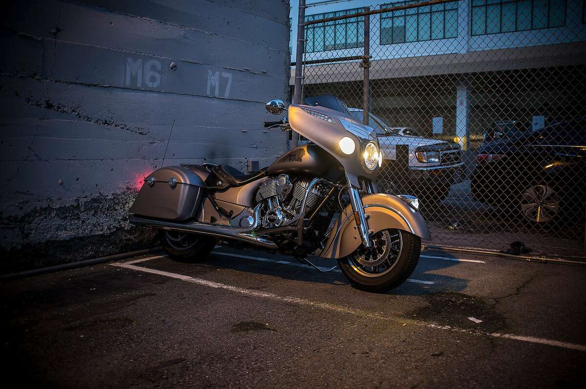 The Chieftain takes on a different look at night.