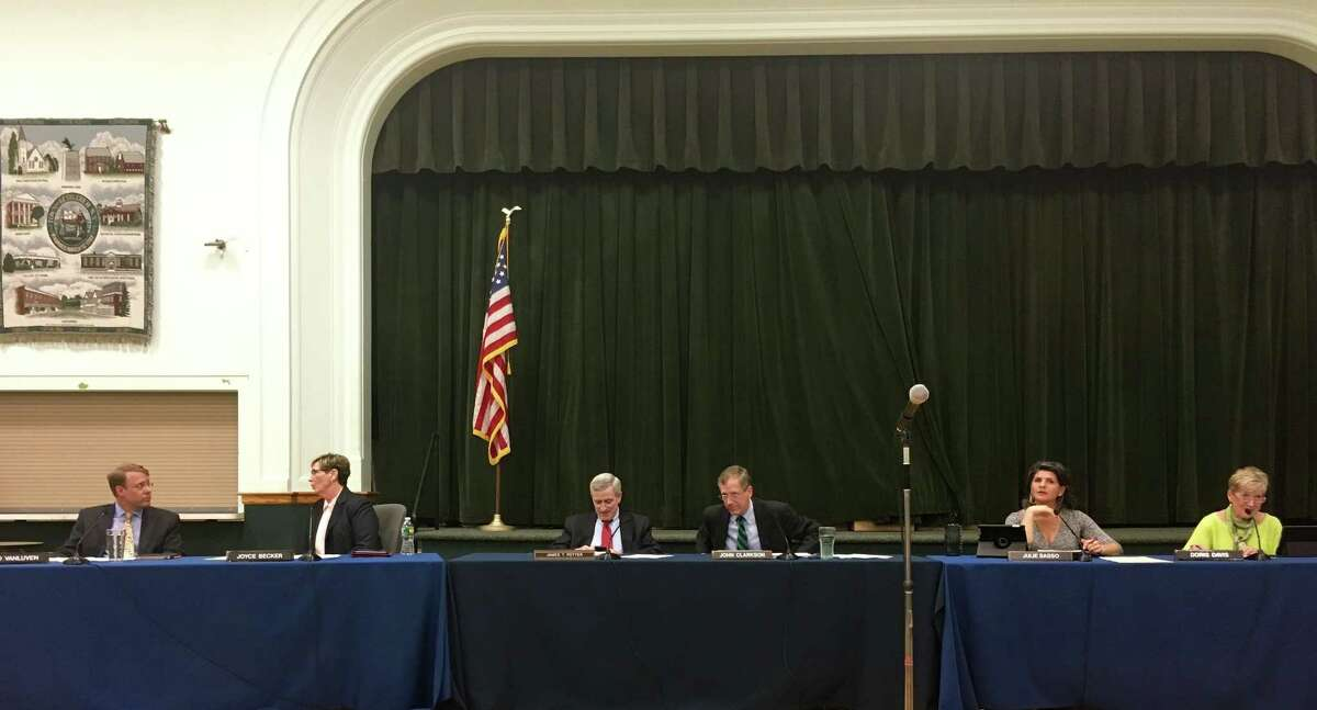Bethlehem town board members heard comments on THM levels on Wednesday night.