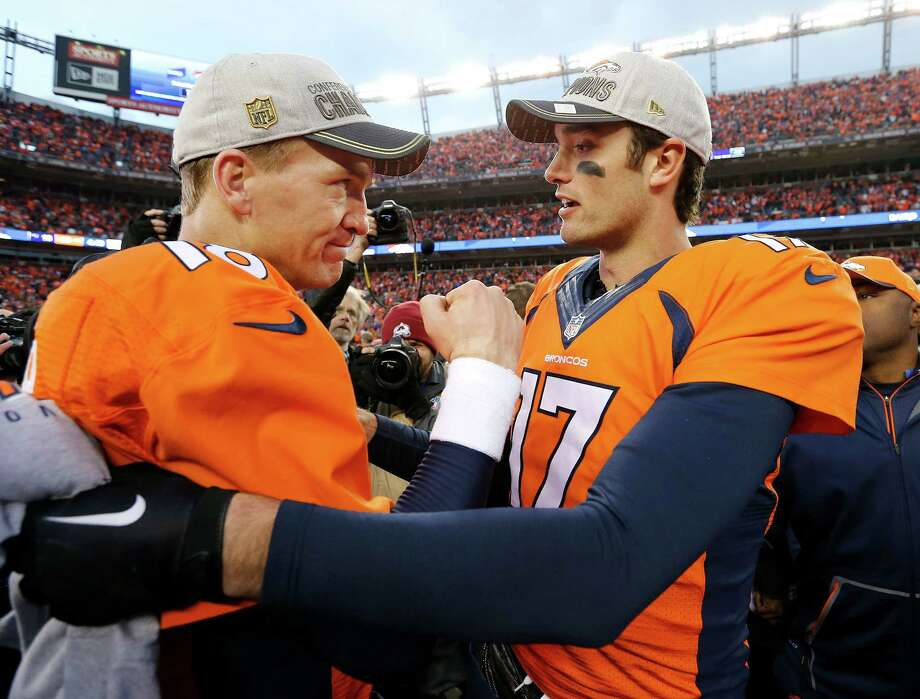 Texans' Brock Osweiler learned on the job from Peyton Manning