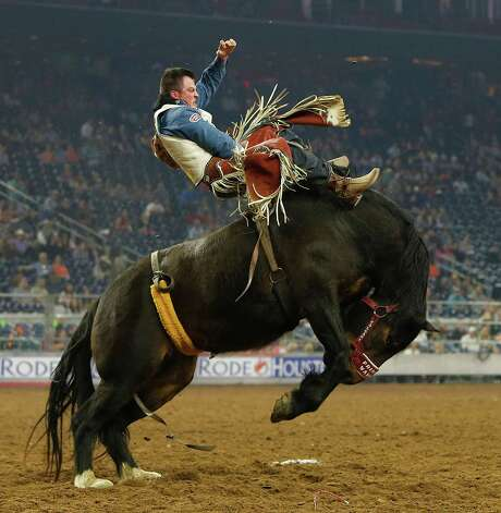 Champion's natural ability has served him well. In 2014, at the age of  21, he was the first cowboy in history to win $1 million in a day. Photo: Karen Warren Karen Warren, Houston Chronicle / © 2015  Houston Chronicle