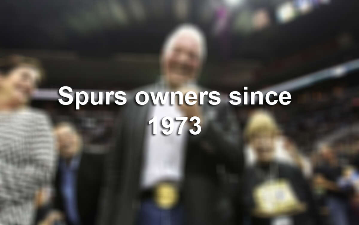 A number of people have had a hand in Spurs ownership since a group of businessmen purchased the team in 1973.