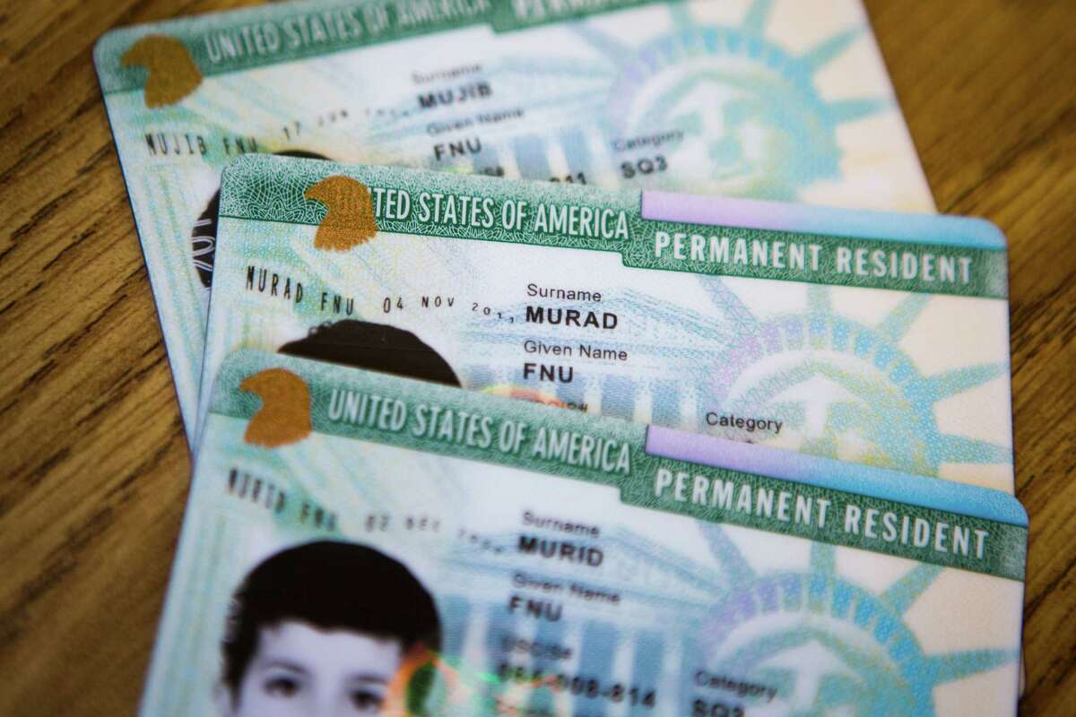 Alejandro Gurany, a 50-year-old El Paso, Texas, made hundreds of thousands of dollars offering false promises to immigrants desperate to obtain green cards, like those pictured above.