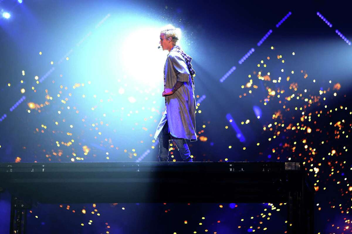 Justin Bieber performed on opening night of his Purpose World Tour at Key Arena in Seattle, Wednesday, March 9, 2016.