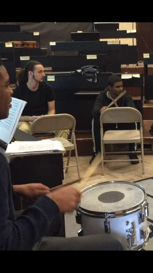 """Sheena Graham, a music teacher at Bridgeport's Harding High School, asked for $4,597 to purchase tenor, snare and bass drums to start a new music physical fitness program — the most she has ever asked for from the site on behalf of her students. """"Harding has not had a music program in five years. I am building it from the ground up,"""" Graham said. """"When I got here, students were drumming on chairs."""""""