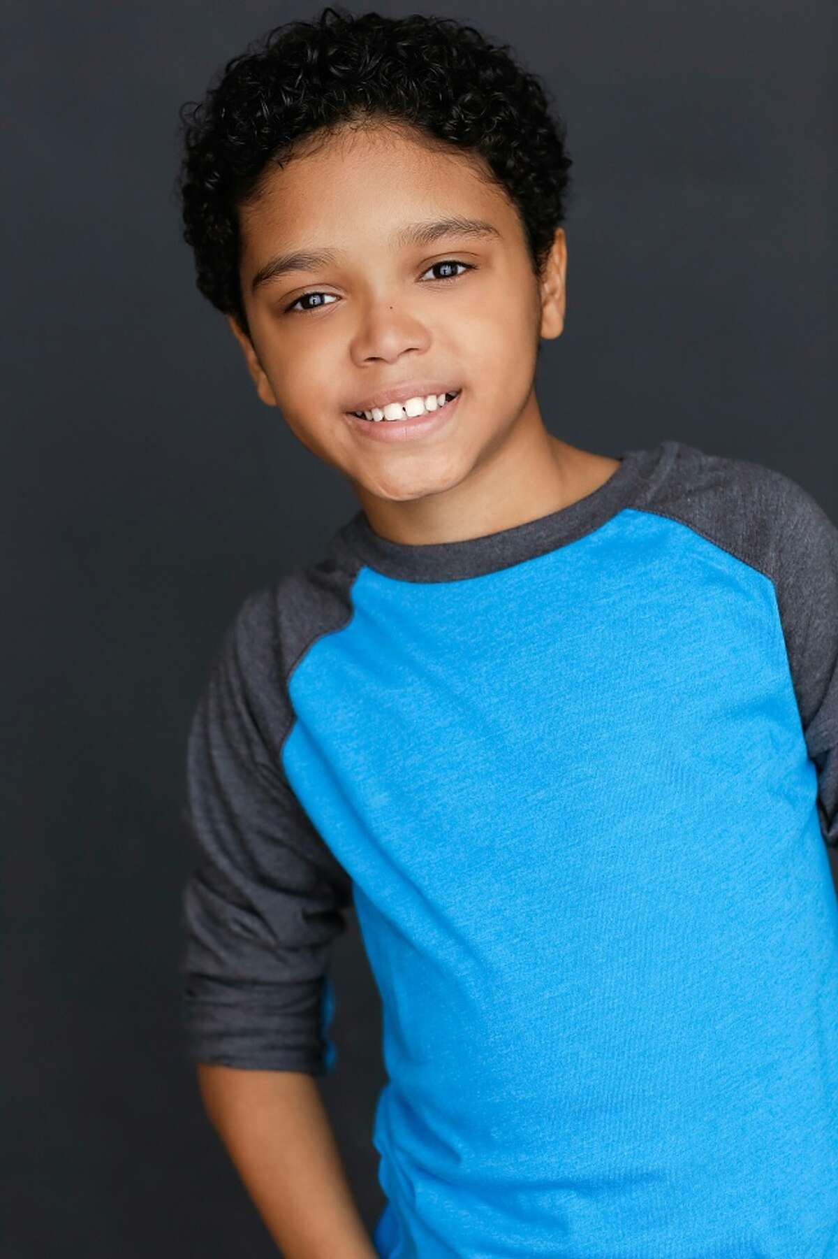 Gabriel Silva, 10, of Houston. He started acting when his mother thought it would help his self-esteem.