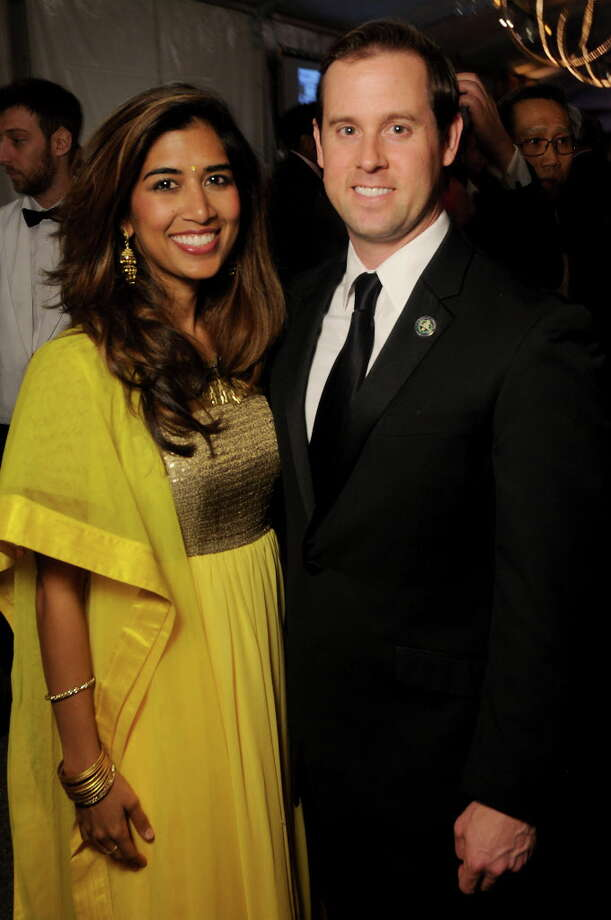 Divya and Chris Brown Photo: Dave Rossman, For The Chronicle / Freelalnce