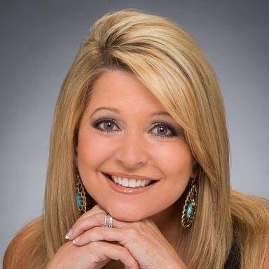 In full makeup, this is how viewers see Leslie Mouton on KSAT-TV. (KSAT photo)